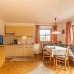 Wohnküche in der Ferienwohnung Panorama in Kastelruth