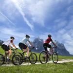 Radfahren von Kasterluth auf die Seiser Alm